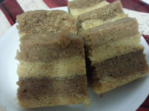 Steam Cream Cracker Cake